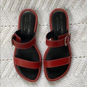 Donald J Pliner Go For It Red Sandals
